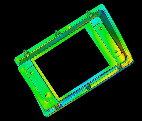 Skanowanie 3D ramki do wydruku 3D