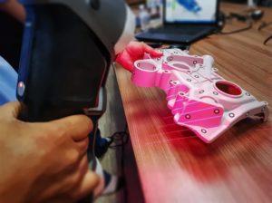 Proces skanowania 3D
